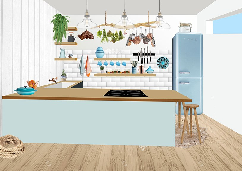 Fish For Thought Kitchen Design