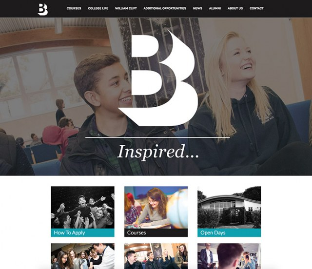 Bodmin College Sixth Form Website Our Work Image