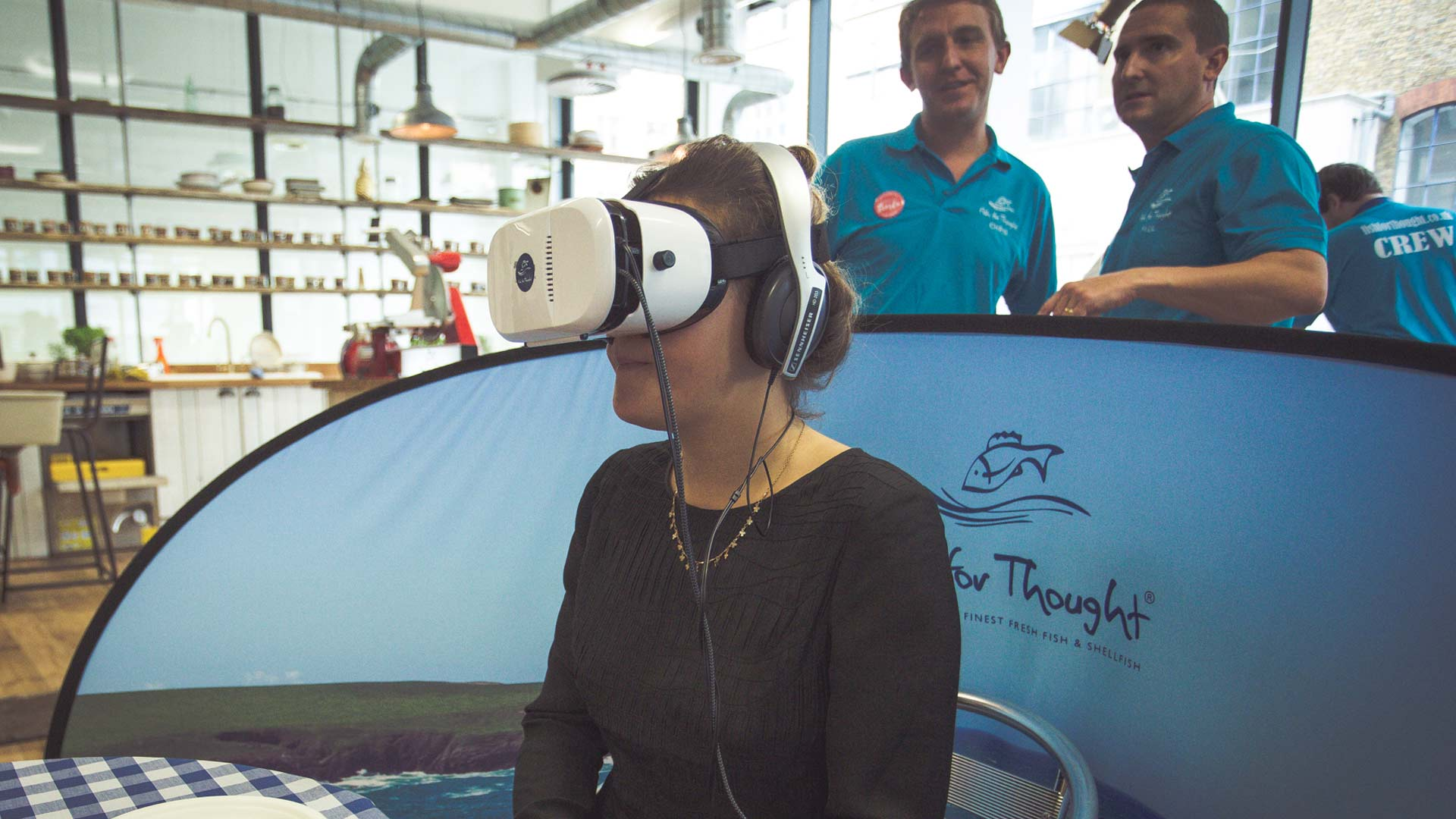 Idenna Other Services Image - VR at Supermarket Siesta Launch Event