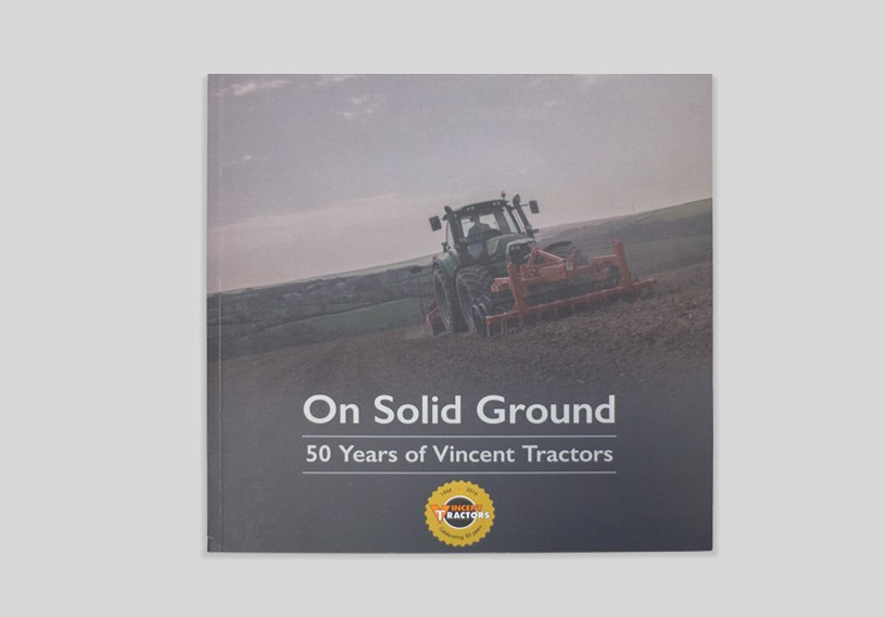 Vincent Tractors Website Book Image