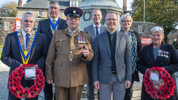Bodmin Remembrance 100 Group Image