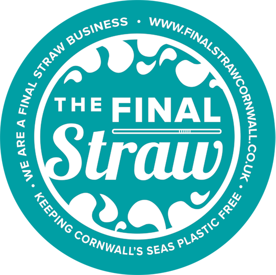 Final Straw Logo and Sticker